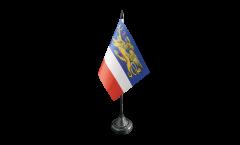 Tischflagge Deutschland Stadt Rostock - 10 x 15 cm