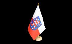 Tischflagge Deutschland Thüringen