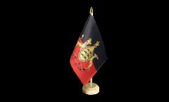 Tischflagge Deutschland Württemberg