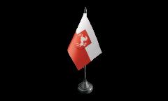 Tischflagge Deutschland Westfalen