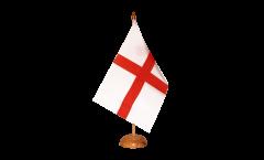 Tischflagge England St. George