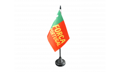 Tischflagge Fanflagge Portugal Forca - 10 x 15 cm