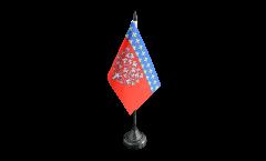 Tischflagge Frankreich Amiens