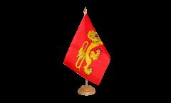 Tischflagge Frankreich Aquitaine