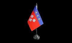 Tischflagge Frankreich Aurillac