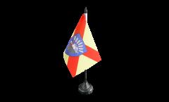 Tischflagge Frankreich Bobigny