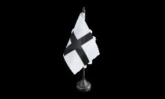 Tischflagge Frankreich Bretagne Kroaz Du