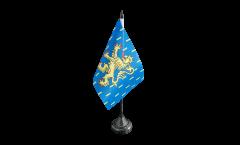 Tischflagge Frankreich Franche-Comté