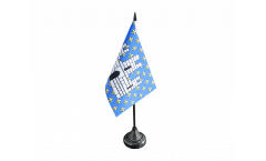 Tischflagge Frankreich Melun