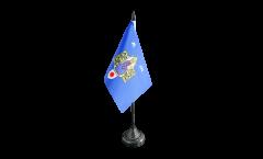 Tischflagge Frankreich Montpellier