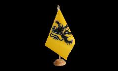 Tischflagge Frankreich Nord Pas de Calais