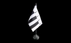 Tischflagge Frankreich Rennes