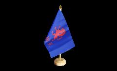 Tischflagge Großbritannien British Army Royal Welch Fusiliers