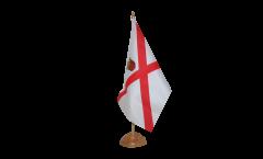 Tischflagge Großbritannien Jersey