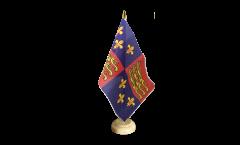 Tischflagge Großbritannien Royal Banner 1485-1547 Heinrich VII. und Heinrich VIII.