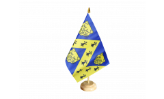 Tischflagge Großbritannien Shropshire neu