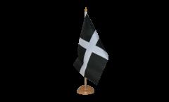 Tischflagge Großbritannien St. Piran Cornwall