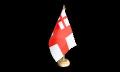 Tischflagge Großbritannien White Ensign 1702-1707