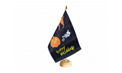 Tischflagge Happy Halloween 4 - 15 x 22 cm