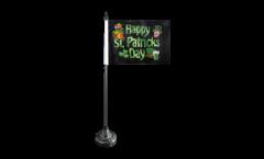 Tischflagge Happy St. Patrick's Day