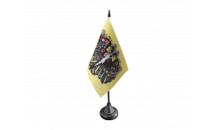 Tischflagge Heiliges Römisches Reich Deutscher Nation Quaterionenadler