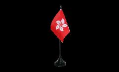 Tischflagge Hongkong