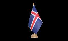 Tischflagge Island