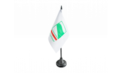 Tischflagge Italien Emilia Romagna - 10 x 15 cm