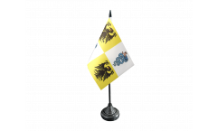 Tischflagge Italien Mailand Herzogtum 1395-1797