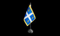 Tischflagge Italien Stadt Turin - 10 x 15 cm