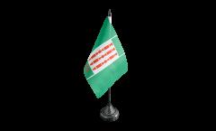 Tischflagge Italien Umbrien - 10 x 15 cm