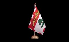 Tischflagge Kanada Prinz Edward Inseln