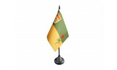 Tischflagge Kanada Saskatchewan