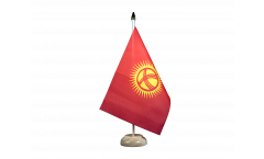Tischflagge Kirgisistan Kirgistan