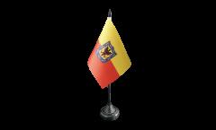 Tischflagge Kolumbien Bogota