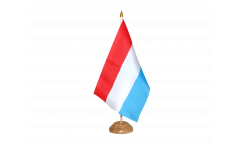 Tischflagge Luxemburg