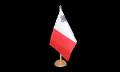 Tischflagge Malta