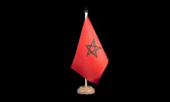 Tischflagge Marokko