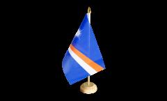 Tischflagge Marshall Inseln