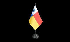 Tischflagge Niederlande Stadt Almere - 10 x 15 cm