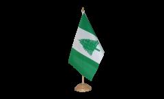 Tischflagge Norfolk Inseln