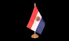 Tischflagge Paraguay