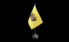 Tischflagge Peru Lima