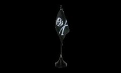 Tischflagge Pirat - 10 x 15 cm