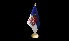 Tischflagge Pommern