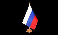 Tischflagge Russland