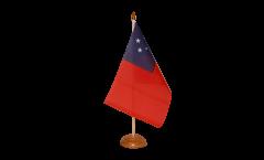 Tischflagge Samoa