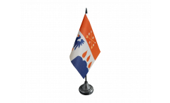 Tischflagge Schweden Provinz Örebro län - 10 x 15 cm