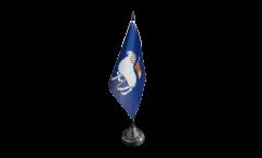 Tischflagge Schweden Provinz Gotlands län