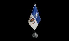 Tischflagge Schweden Provinz Jämtlands län - 10 x 15 cm